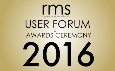The 11th Annual RMS User Forum and Awards Ceremony – Save the Date!