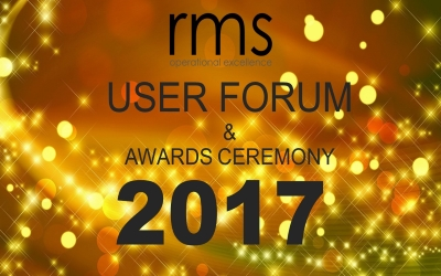 The 12th Annual RMS User Forum and Awards Event, Thursday 13th July 2017