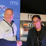 Rob Morgan (RMS) and Michelle Tran (Nuffield Health)
