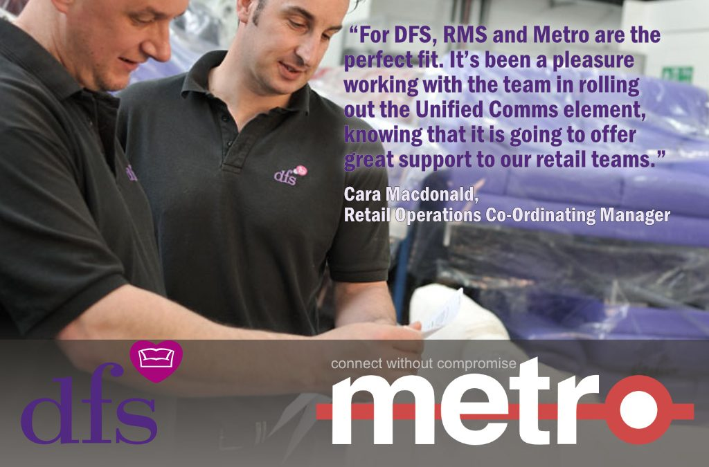 Press Release: DFS selects Metro to enhance Team Communications, Engagement, Task Management and Compliance.