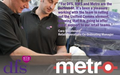 DFS selects Metro to enhance Team Communications, Engagement, Task Management and Compliance.