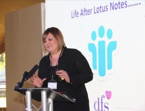 Cara Macdonald from DFS speaking at Metro Forum 2019