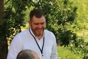 Luke Adams from Greene King enjoying Metro Forum 2019