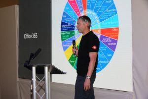 Photo of Ian Chivers from RMS talking at Metro Forum 2019