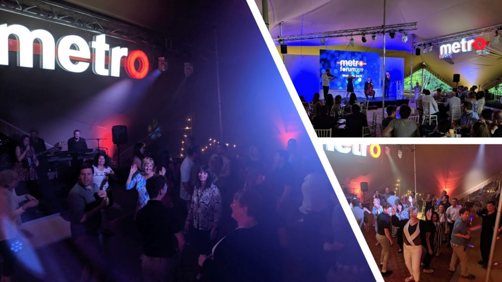 Metro Forum and Awards - picture of people on the dance floor