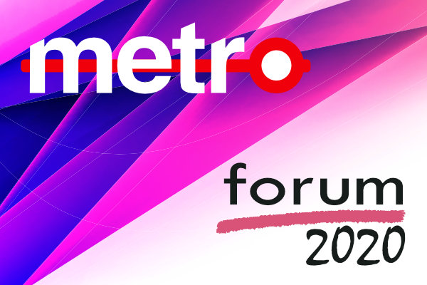 METRO FORUM 2020 and AWARDS EVENT, Thursday 3rd September 2020